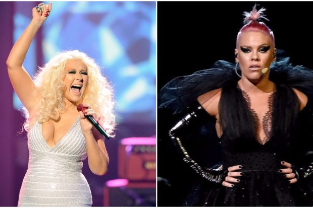 Trading Insults and Blows? Christina Aguilera Tried to Punch Pink!