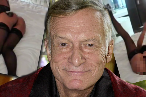 XXX Video of Hugh Hefner's Ex Leaked After 'Playboy' Founder's Death