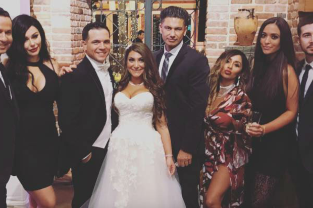 'Jersey Shore' Cast Has Epic Reunion at Co-Star's Wedding