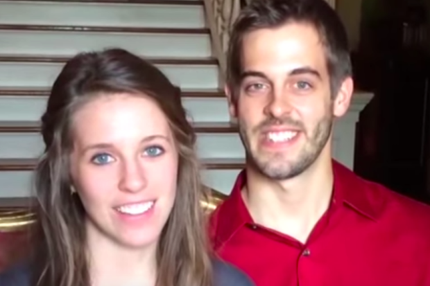 """Get a Room!"" Duggar Couple Slammed for Sharing Photo of Their Steamy PDA"