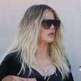 Pregnant Khloé Kardashian Shows Off Her Baby Bump