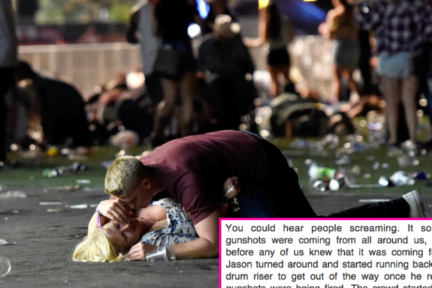 Celebrities Give Terrifying Eyewitness Account of Las Vegas Shooting