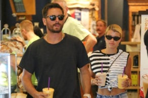 Scott Disick Can't Stop Kissing New Girlfriend Sofia Richie