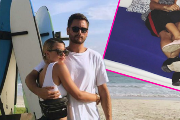 Getting Hot and Heavy! Scott Disick Can't Keep His Hands Off Sofia Richie
