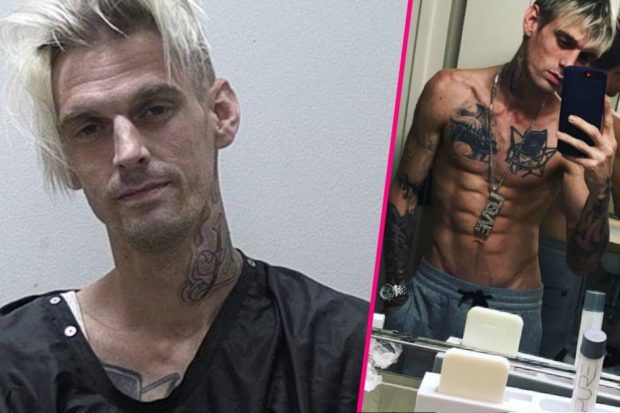 Aaron Carter Leaves Rehab After 45-Pound Weight Gain