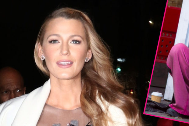 Blake Lively Looks Unrecognizable as a Heroin Addict on Set of New Movie