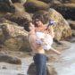 Kendall Jenner beach male shirtless model
