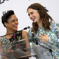 Tessa Thompson and Lily Collins