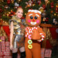 Gwen Stefani christmas tree gingerbread man