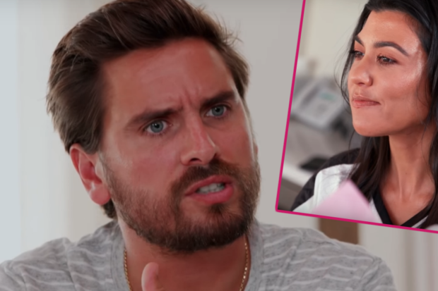 "Scott Disick Slams ""Fake"" Kourtney Kardashian After Being Snubbed by Her Family"