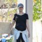 Jessica Alba pregnant baby bump