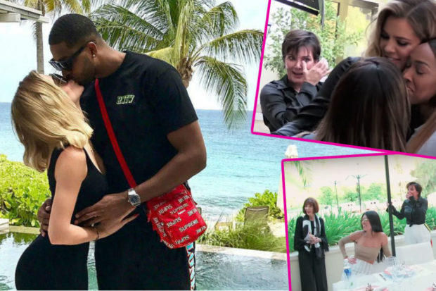 People Think This Is the Moment Khloé Kardashian Announced Her Pregnancy