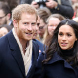 Prince Harry and Meghan Markle Hold Hands at First Joint Royal Event