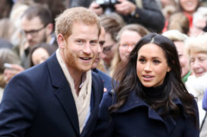 Meghan Markle Can't Keep Her Hands Off Prince Harry!