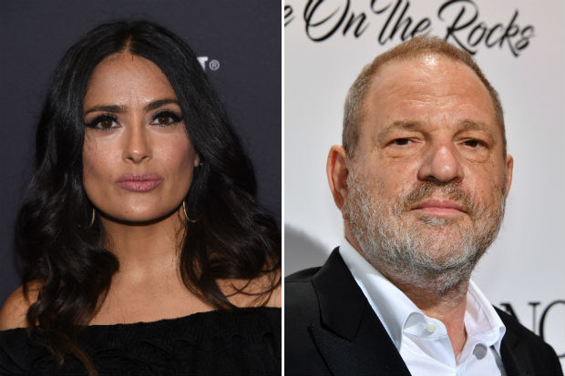 salma hayek harvey weinstein