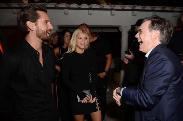 scott disick sofia richie laugh