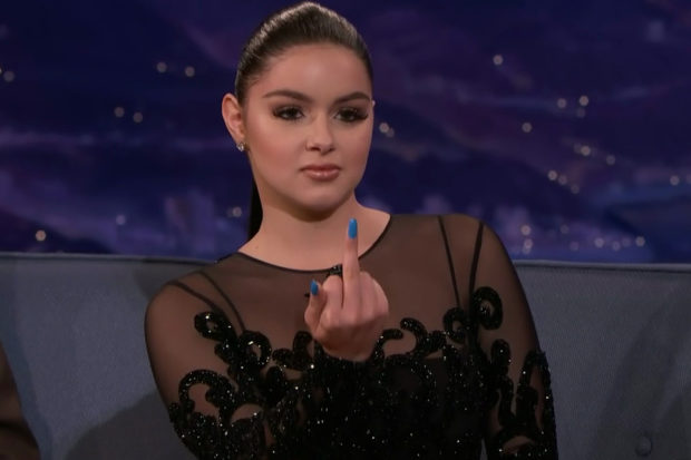 Ariel Winter's House Gets Covered in Poop