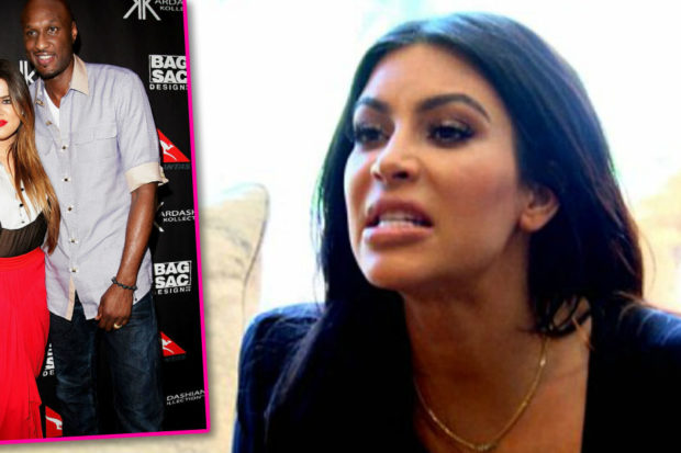 Kim Kardashian Slams Lamar Odom Over Shady Khloé Diss
