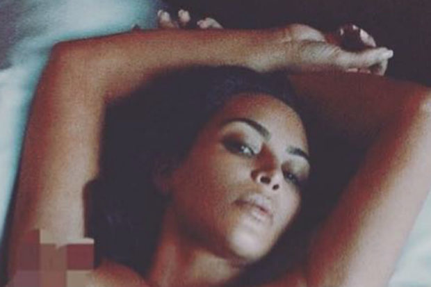 Topless and Proud! Kim Kardashian Exposes Herself in NSFW Photo
