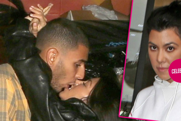 Kourtney Kardashian Flaunts Giant Hickey After Packing PDA With Younes Bendjima