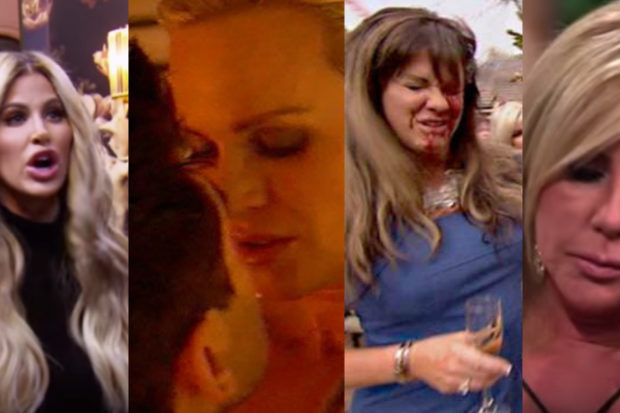 The Most Dramatic Moments in 'Real Housewives' History