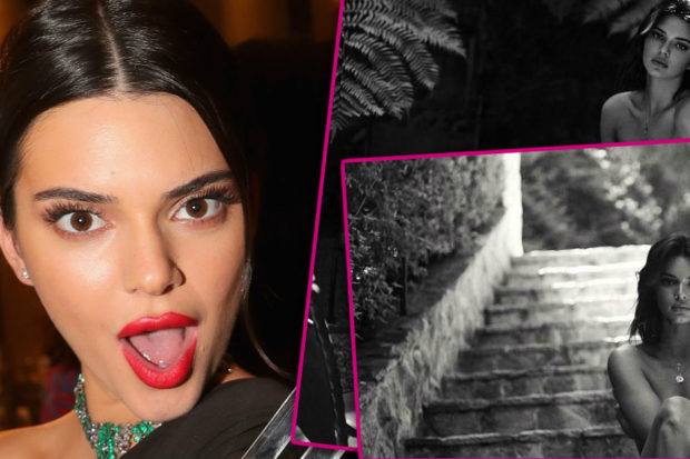 These Topless Photos of Kendall Jenner Are Raising a Lot of Questions