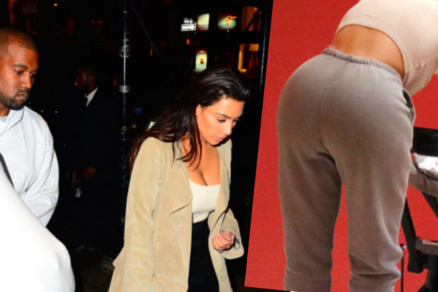 Kim Kardashian Takes First Public Outing with Chicago West