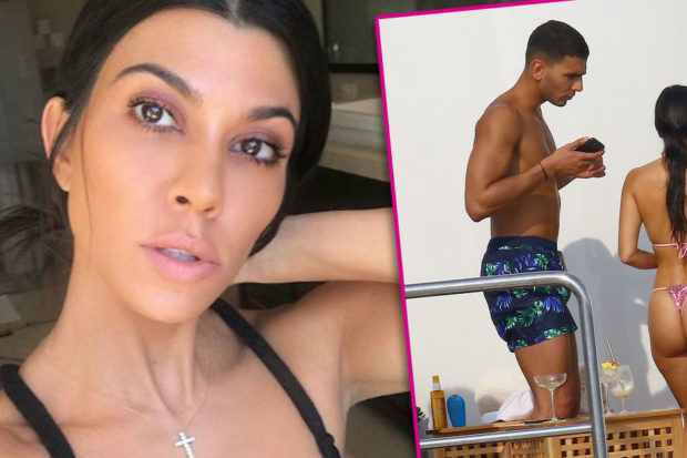 Just Like Kim! Kourtney Kardashian's Butt Lift Stuns Fans