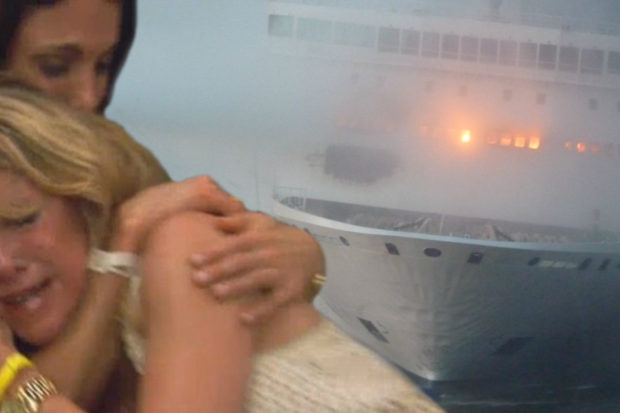 'RHONY' Cruise Catches Fire and Sinks