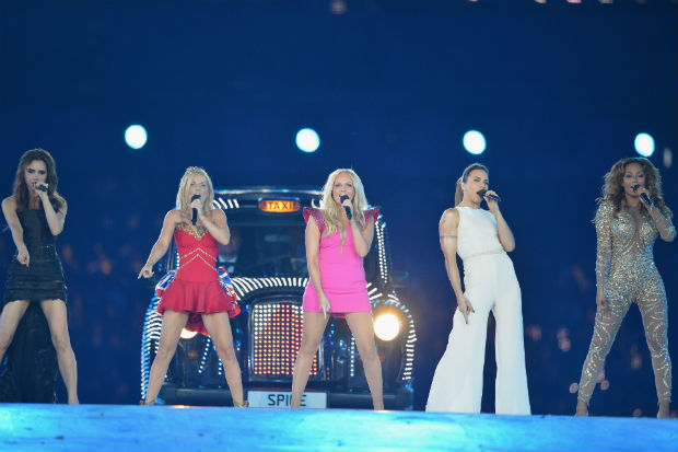 2012 Olympic Games spice girls closing ceremony