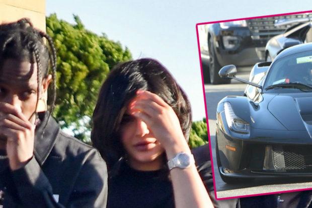 Kylie Jenner Flaunts $1.4 Million Push Present from Baby Daddy Travis Scott