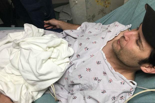 corey feldman hospital stabbed