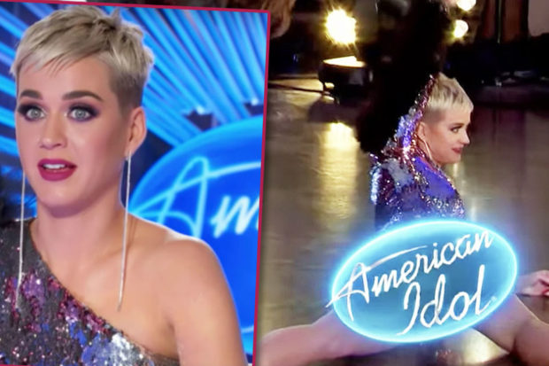 katy perry american idol flash wardrobe malfunction vagina
