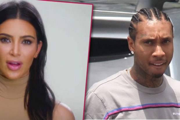 Ouch! Tyga Calls Out Kim Kardashian in Shady Message