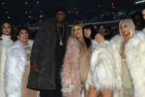 Lamar Odom Comes Face-to-Face with Khloé Kardashian's Sisters