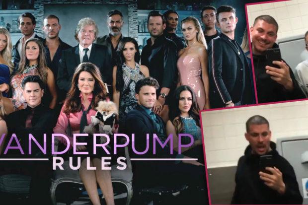 Busted! 'Vanderpump Rules' Stars Caught Doing Drugs in Airport Bathroom
