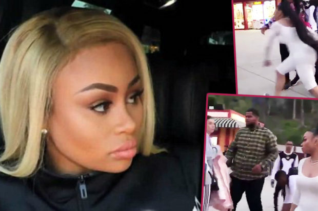 Blac Chyna Attacks Stranger with Kids' Stroller During Explosive Fight