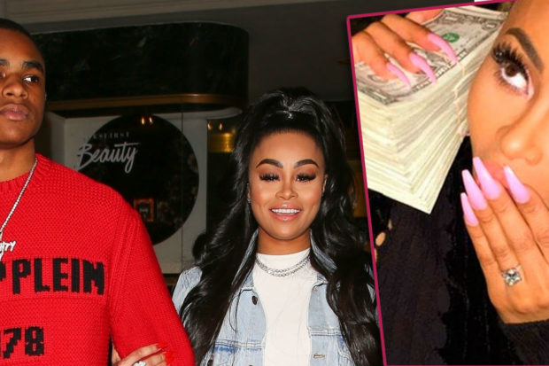 Blac Chyna's Teen Boyfriend Just Proposed on Instagram