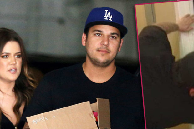 Yikes! Khloé Kardashian Knocked Out Rob's Tooth During a Fight