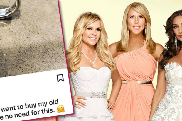 Relationship Drama! 'RHOC' Star Sells Off Wedding Ring
