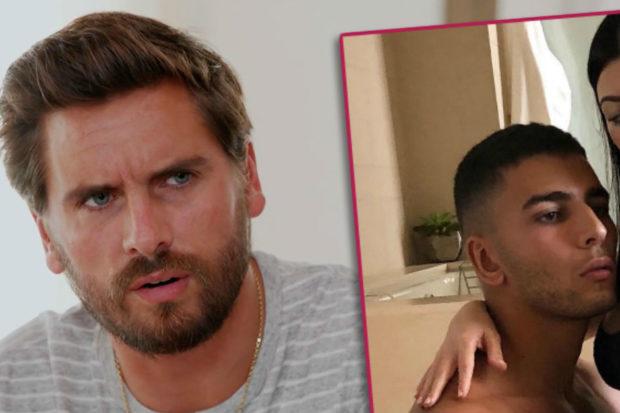 Making Scott Jealous? Kourtney Kardashian Strips Down with Younes Bendjima