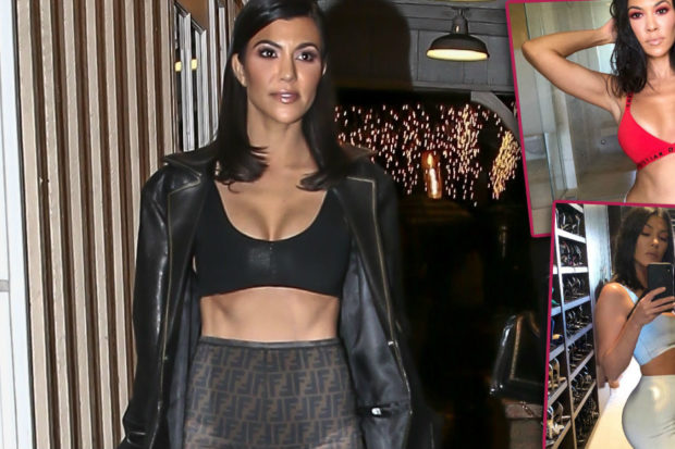 Is This Healthy? Kourtney Kardashian's Shocking Weight Loss Revealed