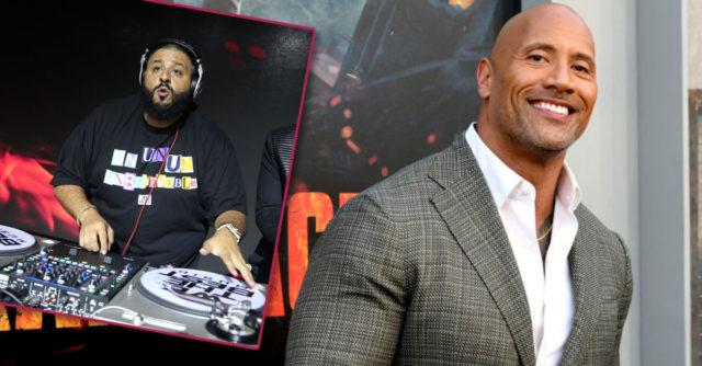 The Rock and DJ Khalid