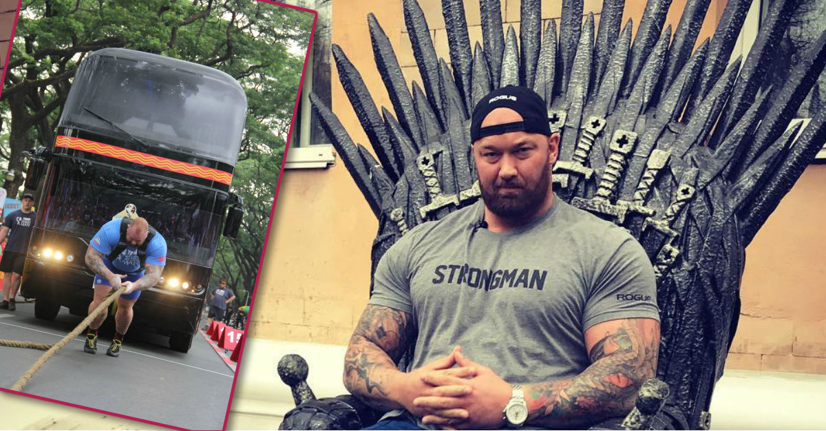 This 'Game of Thrones' Star Just Became the World's Strongest Man
