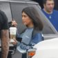 """Canoga, CA  - *EXCLUSIVE*  - Kourtney Kardashian quickly leaves the studio after filming for """"Keeping Up With The Kardashians.""""  Pictured: Kourtney Kardashian  BACKGRID USA 11 MAY 2018   BYLINE MUST READ: BAHE / BACKGRID  USA: +1 310 798 9111 / usasales@backgrid.com  UK: +44 208 344 2007 / uksales@backgrid.com  *UK Clients - Pictures Containing Children Please Pixelate Face Prior To Publication*"""