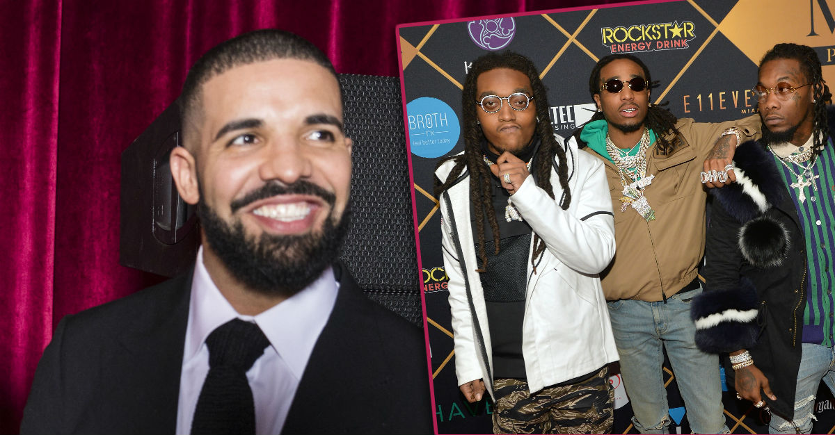 Drake Is Going on Tour with Migos