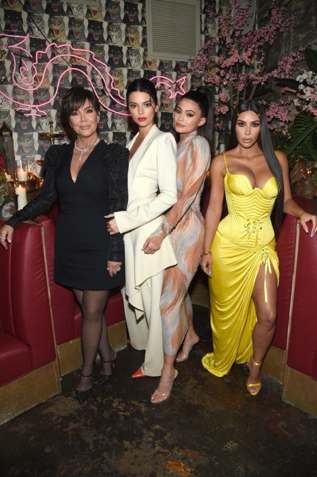 kris kendall kylie jenner kim kardashian