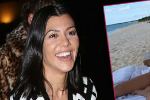 Kourtney Kardashian Slammed for Revealing Bikini Photo