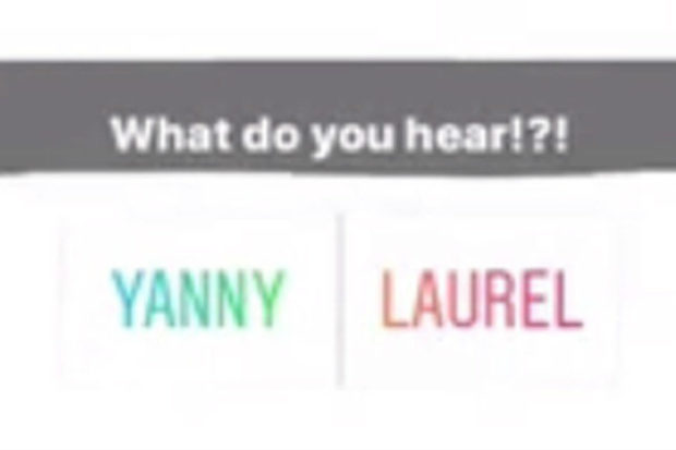 yanny laurel hearing test