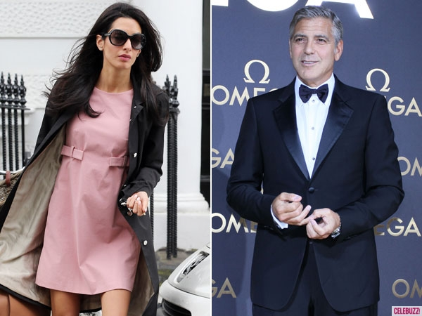 George Clooney and Amal Alamuddin are reportedly getting married at Highclere Castle near London.